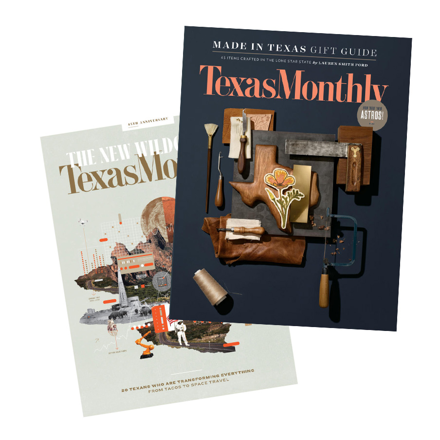 Texas Monthly covers